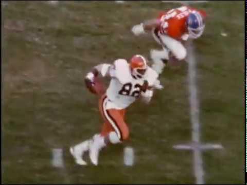 1981 Browns at Broncos Game 10