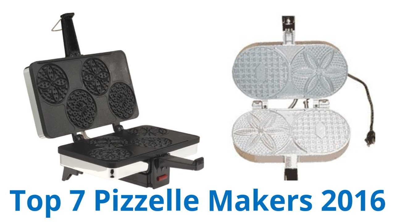 7 Best Pizzelle Makers 2016 Youtube
