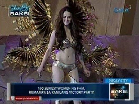 Saksi: 100 Sexiest Women ng FHM, rumampa sa kanilang victory party