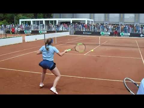 Jelena Ostapenko Practice | Rome 2018 | Court Level