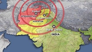 Epicenter of earthquake was in Hindukush mountain range 10 april 2016