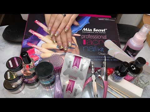 Acrylic Nails Kit For Beginner | Mia Secret Kit | Supplies Needed To Do Nails