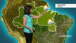 Previsão Norte – Chuva continua em RR