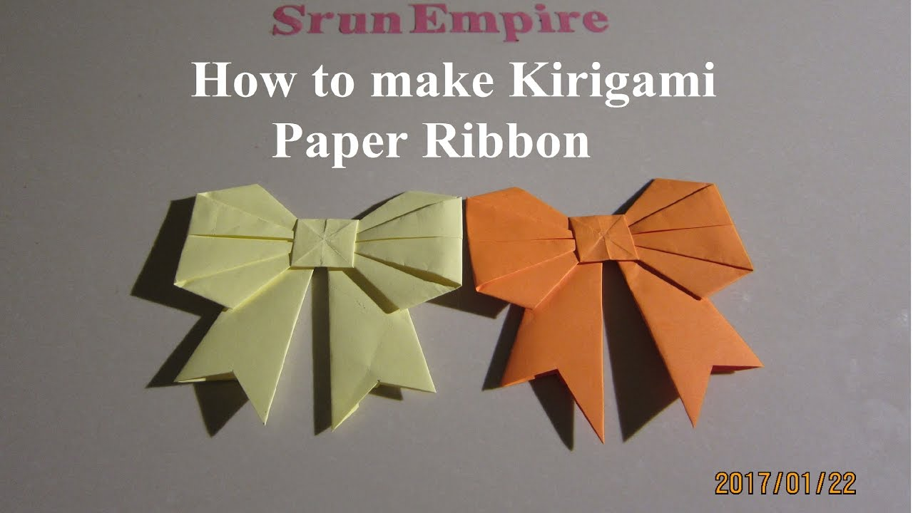 Mysterious kirigami - tips for beginners