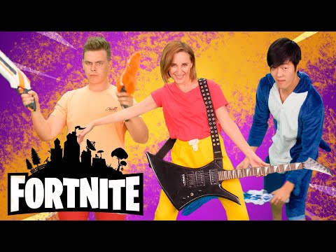 Lets Go (Fortnite Edition) | Game Song & Nursery Rhymes | Multi-Do Sing And Dance