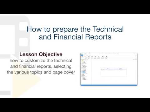 Solarius PV Tutorial - Generating the Financial Analysis and Technical Report - ACCA software