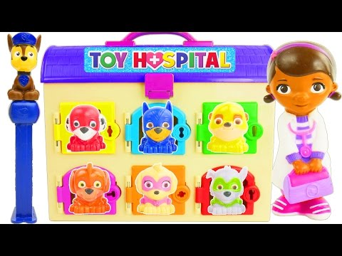 Learn Colors for Toddlers Videos Paw Patrol Fun Toy Learning Movies Doc McStuffins  Pig Rescue