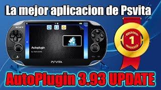 Autoplugin 3.93 PSVITA Update   La mejor Aplicación de PSVITA