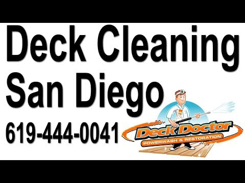 Deck Cleaning Mesa Grande Indian Reservation