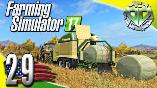 Farming Simulator 2017 Gameplay :EP29: Krone Ultima CF 155 XC! (PC HD American Outback)