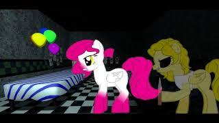 Клип с пони на песню Over F 5 ночей с фредди