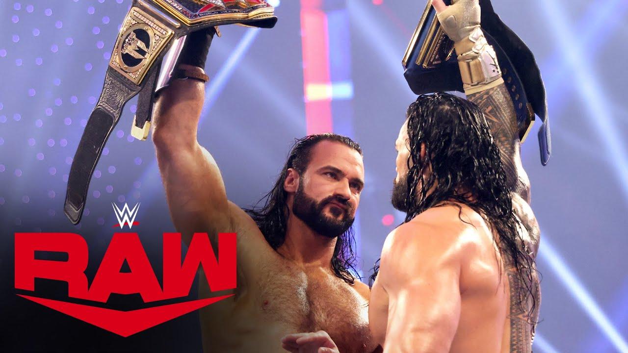 Download Recap of Roman Reigns vs. Drew McIntyre at Survivor Series: Raw, Nov. 23, 2020