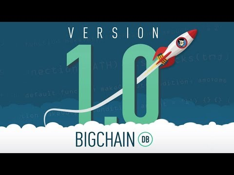 BigchainDB Version 1.0 Released - Live Coding Demo