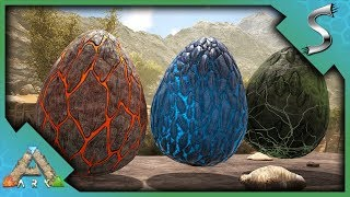 STEALING WYVERN EGGS & GETTING MILK! TAPEJARA & THYLA METHOD - Ark: Scorched Earth [Gameplay S2E12]