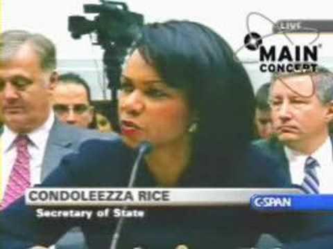 Ron Paul Vs Condoleezza Rice