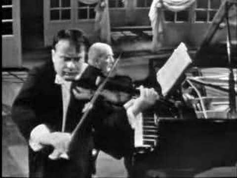 Henryk Szeryng plays Brahms Hungarian Dance No. 17