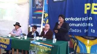 ENCUENTRO NACIONAL DE PUEBLOS INDIGENAS ANDINO - AMAZONICO (Conacami . Aidesep)