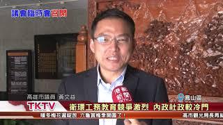 1080116【港都新聞】市議會臨時會 議長許崑源敲槌宣布召開