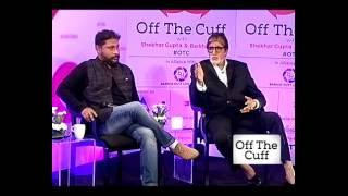 Off The Cuff with Amitabh Bachchan and Shoojit Sircar