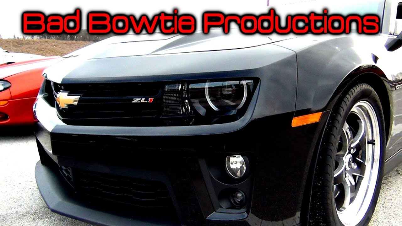 2013 Zl1 Ported Blower Vs 150 Shot Camaro Ss Youtube