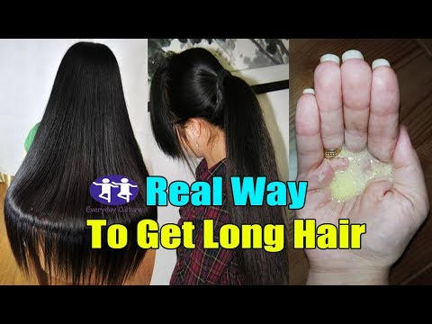 Get very long hair Fast very very Easy  Thick Hair  Strong hair  Healthy smooth hair real way to get