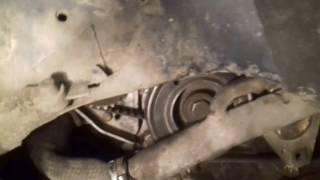 пежо 406 2.0 1998 год замена ремня грм и помпы (Samir Usta)