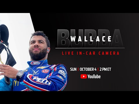 Bubba Wallace live in-car camera presented by Coca-Cola | NASCAR Playoffs at Talladega Superspeedway