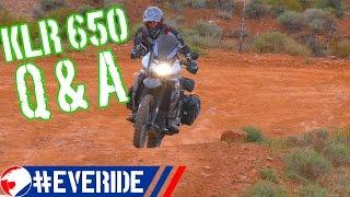 Kawasaki KLR 650 Common Questions & Answers #everide