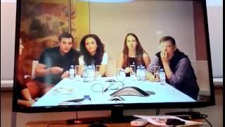 Видео-конференция с актерами сериала «Мамочки» телеканала СТС, второй сезон – фрагменты(4)