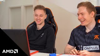 """""""Guess My Elo"""" Season 2 with Fnatic League of Legends' Rekkles and Broxah – presented by AMD"""