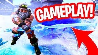 GAMEPLAY VAN HET NIEUWE ZWAARD!! INFINITY BLADE IS SUPER STERK! Fortnite Battle Royale