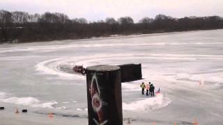 Борки ice racing, заезд  Игорь Баранов  ВАЗ 21043