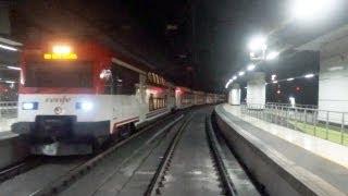 Rail View T Tren de Barcelona a Valencia - 2013