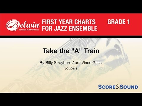 Take the A Train arr Vince Gassi  Score & Sound