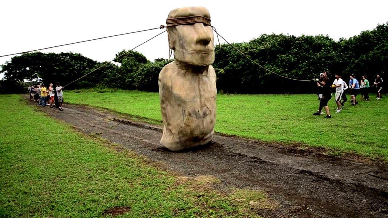 Célèbre Ile de Pâques - les Moai marchaient-ils? - YouTube CP38