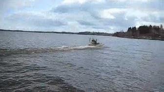 Hydrokopteri Kelirikko 420 Kitee lake