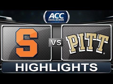 Syracuse vs Pittsburgh | 2014 ACC Basketball Highlights