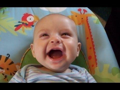 Лучший детский смех видео. Подборка [NEW HD]