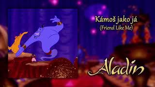 "Gambar cover Otakar Brousek ml. - Friend Like Me (""Aladdin"" 1992 / CZECH Soundtrack / Aladin) [CZ HQ]"