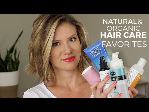 Natural & Organic Hair Care Favorites  // Laura's Natural Life