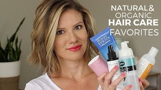 Natural & Organic Hair Care Favorites  // Laura's Natural Life