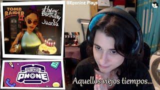 #EpoDirecto - Charlita, Lara Croft, Gartic Phone y un poco de nostalgia...