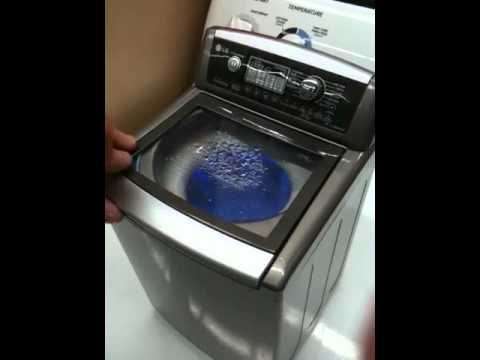 Lg wave force top load he washer lg youtube - Washing machine for small spaces gallery ...