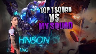 TOP 1 SQUAD VS MY SQUAD PART 2 - MOBILE LEGENDS - 2000 DIAMONDS GIVEAWAY - GAMEPLAY - RANK - JOHNSON