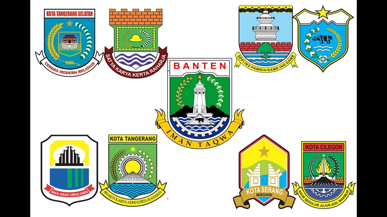 Logo Pemerintah Kabupaten Se Provinsi Banten Youtube