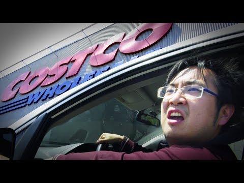 How Asians Park at Costco