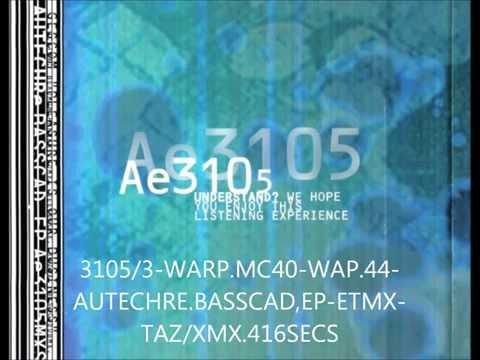 autechre basscadet tazxmx warp tvt waxtrax 25 april 1994