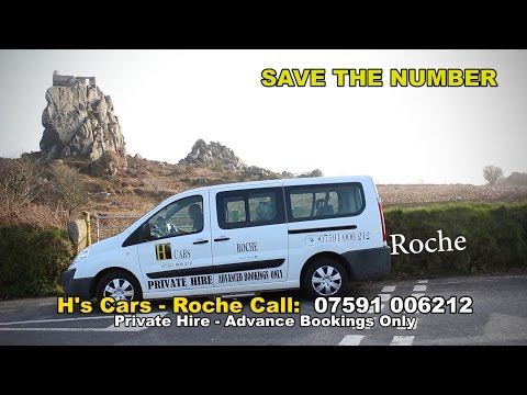 H's Cars Roche - Private Hire Taxi Airport Transfers in Cornwall