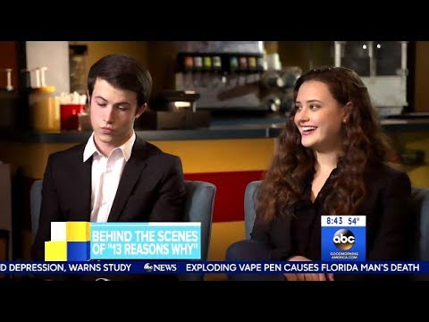 "Cast Of ""13 Reasons Why"" Behind The Scenes Chat Of Season 2 - GMA"