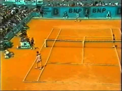 1984 French Open Quarterfinal - Jimmy Arias vs John McEnroe - Part 3